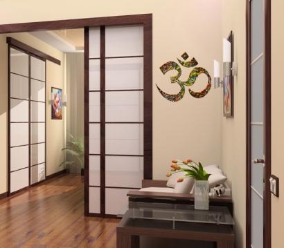 om wandtattoo zeichen yoga kraftsymbol wandsticker reiki. Black Bedroom Furniture Sets. Home Design Ideas