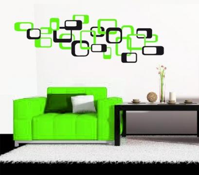 retro wandsticker wandtattoo wandtattoos wandaufkleber aufkleber. Black Bedroom Furniture Sets. Home Design Ideas