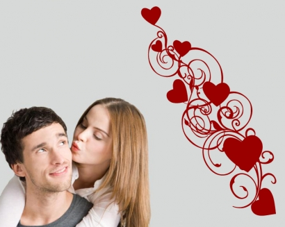 herz herzen liebe love Wandtattoo Wandtattoos und wandaufkleber im