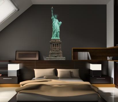 new york deko bild leinwand bilder kunstdruck new york skyline deko blau art deco in new york
