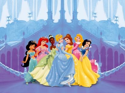 Mädchenzimmer Wandtapete und Prinzessinnen Fototapeten ...
