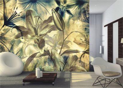 foto tapeten blumen g nstig aus sterreich kaufen wandgestaltung. Black Bedroom Furniture Sets. Home Design Ideas