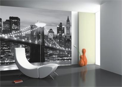 Fototapete New York Tapete und schöne Wohnzimmer Raumdekoration