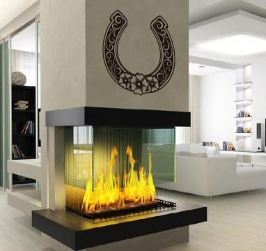 hufeisen gl ck aufkleber wandtattoo wandtattoos wandaufkleber. Black Bedroom Furniture Sets. Home Design Ideas