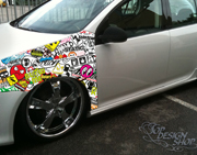 Jdm race style Auto Sticker Bomb Folien