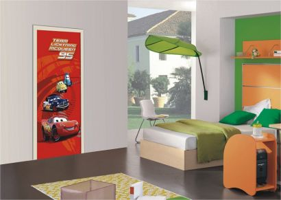 kinderzimmer fototapeten g nstig kaufen disney cars t rposter. Black Bedroom Furniture Sets. Home Design Ideas