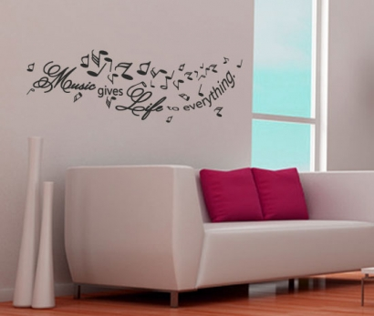 wandtattoos musik g nstig bestellen g nstige noten wandsticker. Black Bedroom Furniture Sets. Home Design Ideas