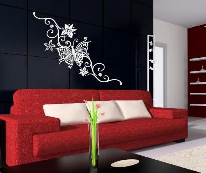 schmetterling wandtattoo wandtattoos wandaufkleber aufkleber. Black Bedroom Furniture Sets. Home Design Ideas