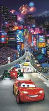Elegant Disney Cars Kinderzimmer · Fototapete Türposter