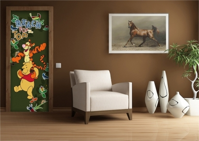 poster disney winnie pooh kinderzimmer fototapete kasten t rposter. Black Bedroom Furniture Sets. Home Design Ideas
