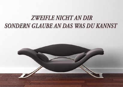 wandtattoo wand aufkleber motivation spruch text wandtattoos