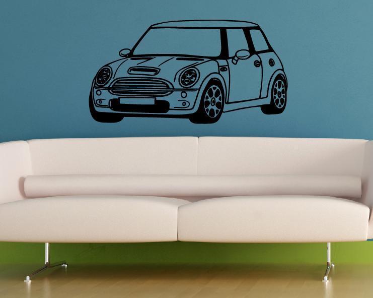 Wandtattoo wandtattoos mini design wandaufkleber online shop - Wandtattoo kinderzimmer auto ...