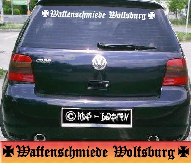 Waffenschmiede Wolfsburg Auto Aufkleber Für Tuning Old