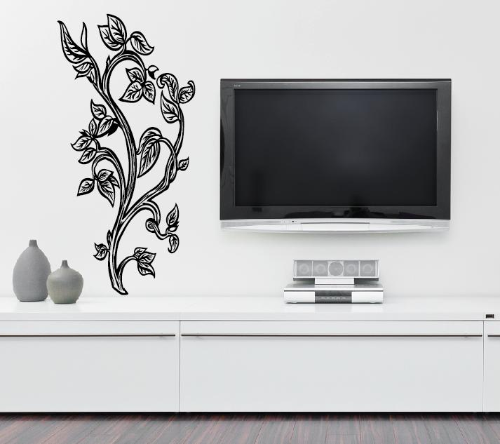 wandtattoos wandaufkleber bl tter ast. Black Bedroom Furniture Sets. Home Design Ideas