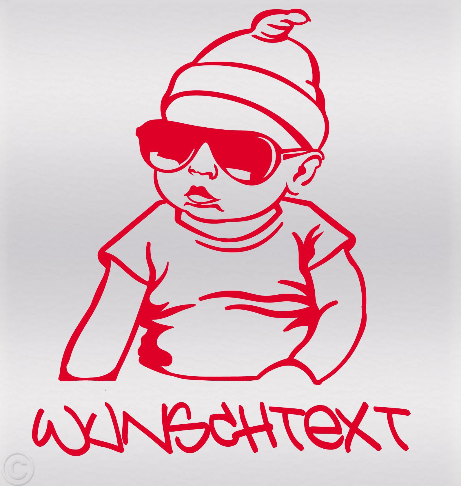Hangover Babyaufkleber Wunschtext Mit Vorschau Gestalten