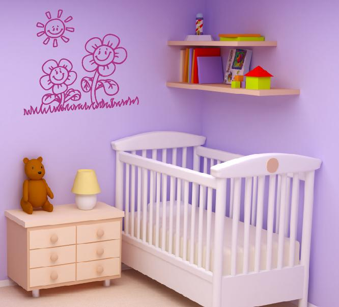 Kinderzimmer wandtattoo wandtattoos wandaufkleber aufkleber for Kinderzimmer wandaufkleber