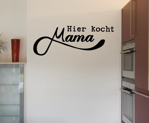 wandtattoo hier kocht mama wandtattoos wandaufkleber shop. Black Bedroom Furniture Sets. Home Design Ideas