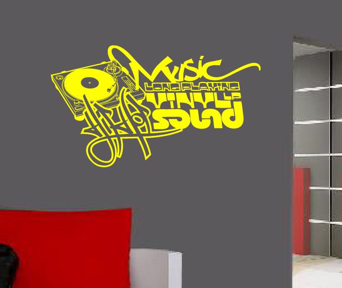Wandtattoo graffiti hip hop reuniecollegenoetsele - Wandsticker graffiti ...