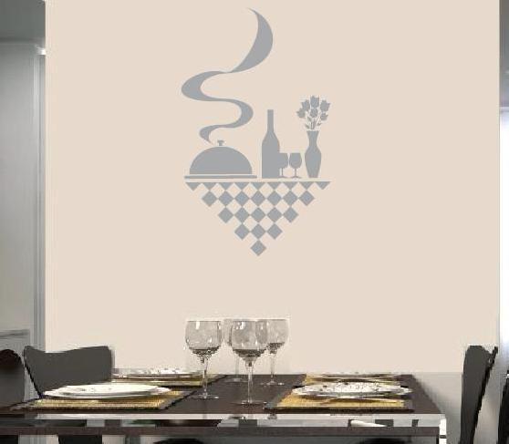 wandtattoo küchen wandtattoo aufkleber karo design - Wandtattoos Küche Esszimmer