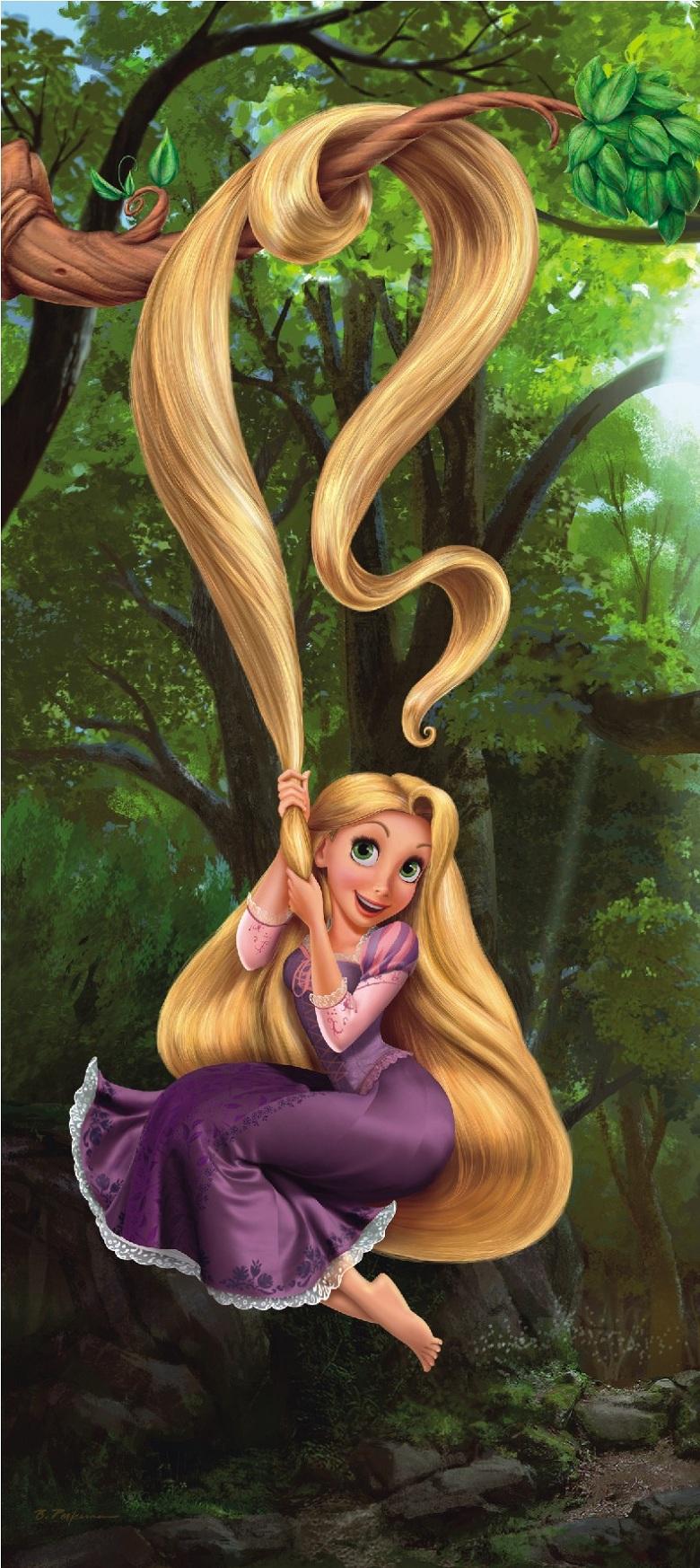 Fototapeten Kinderzimmer G?nstig : S?sse Fototapeten Kinderzimmer Poster Disney Rapunzel g?nstig online
