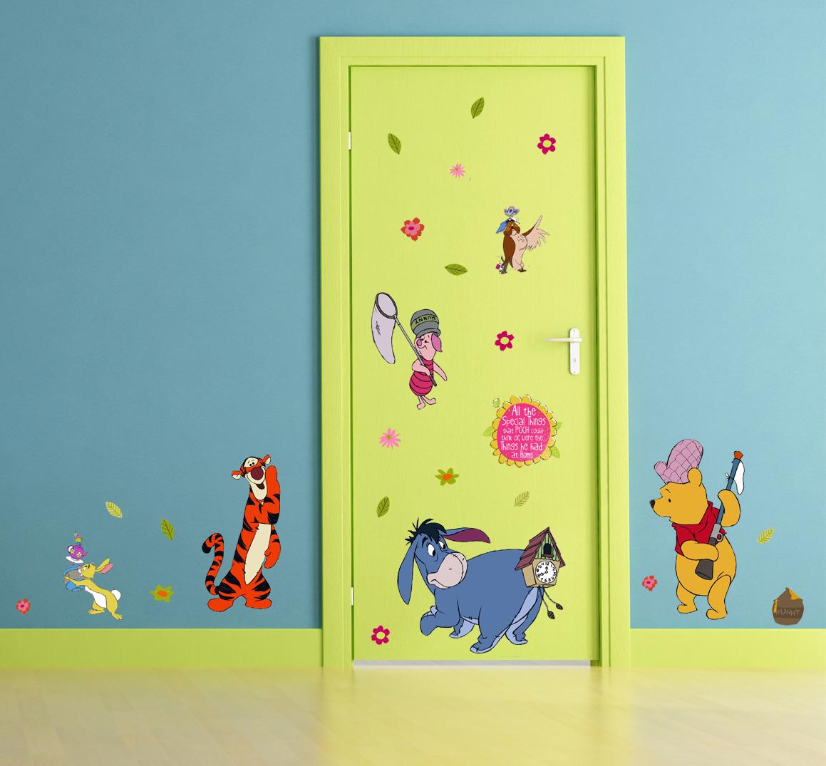 Kinderzimmer Wandsticker © Disney Winnie Pooh Wandtattoos Aufkleber