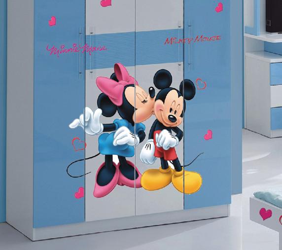 Micky Maus Aufkleber Kinderzimmer Wandtattoos © Disney Micky Aufkleber