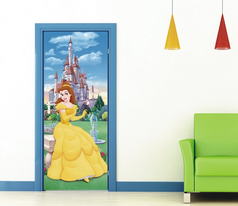Prinzessin Fototapete von Walt Disney fürs Kinderzimmer kaufen