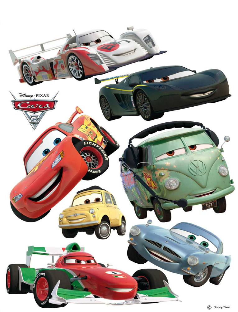 cars wandaufkleber disney sch ne kinderzimmer aufkleber. Black Bedroom Furniture Sets. Home Design Ideas