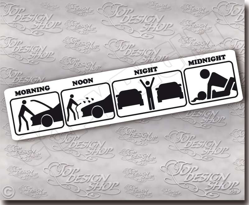 Race Car Decal Stickers