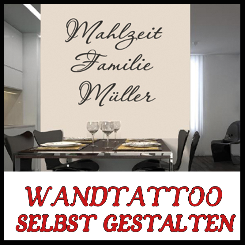 wandtattoo k che selbst gestalten reuniecollegenoetsele. Black Bedroom Furniture Sets. Home Design Ideas