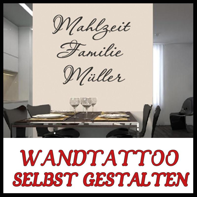 Wandtattoo Spruch - eigener Text Sprüche Wandtattoos