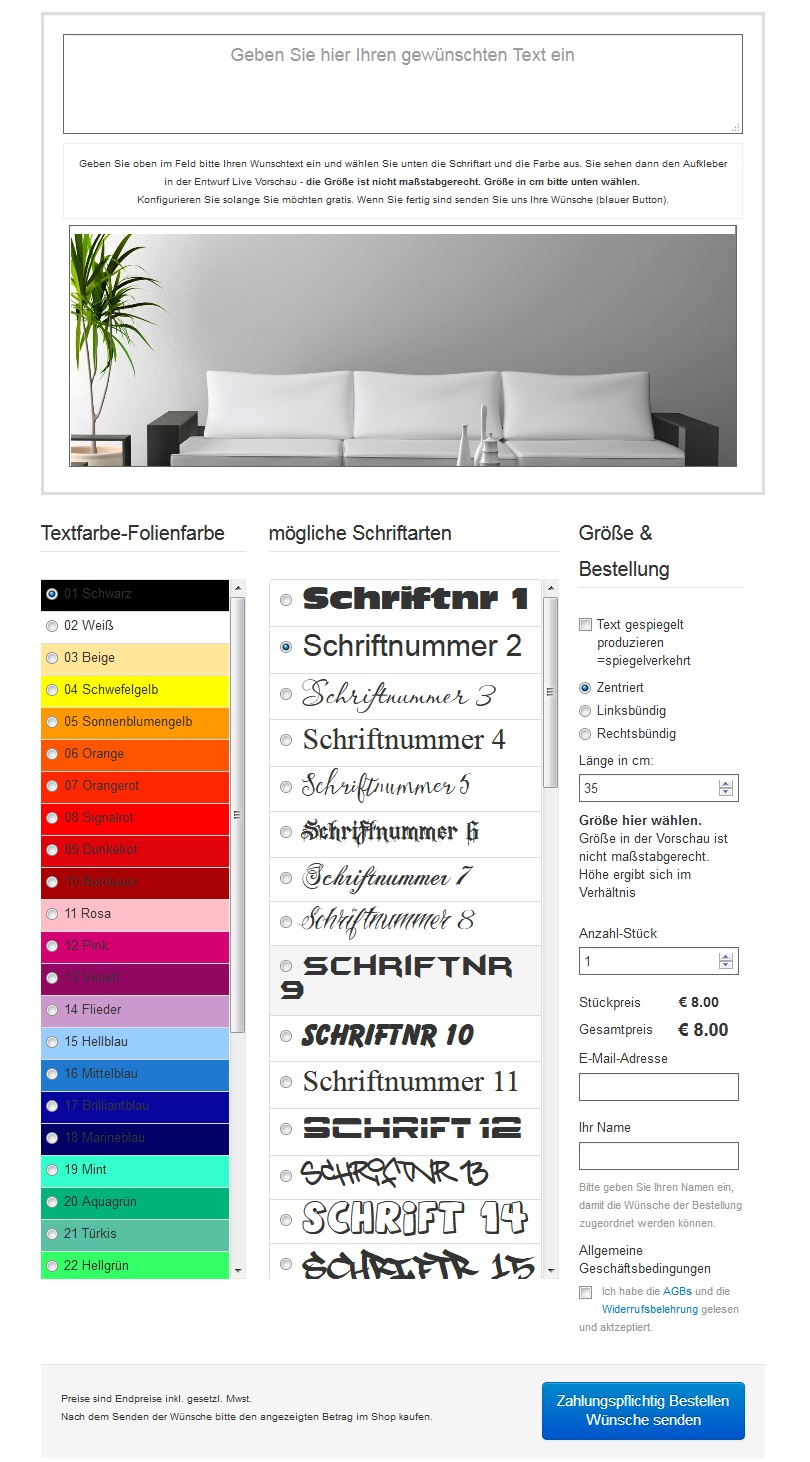 wandtattoos und wandsticker shop wandtattoo aufkleber. Black Bedroom Furniture Sets. Home Design Ideas
