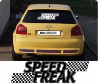 auto aufkleber speed freak
