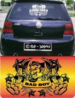 auto aufkleber bad boy sticker