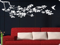 pin deko wandschablone wandschablonen wandtattoo efeuranke ebay on pinterest. Black Bedroom Furniture Sets. Home Design Ideas