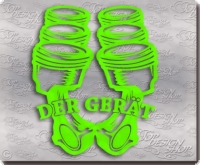 der ger�t fun sticker geraet